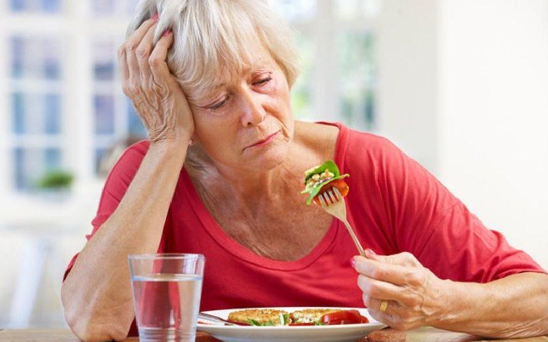 Appetitten kan falde med alderen