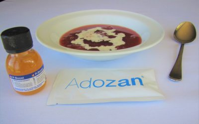 Jordbærgrød med Adosan